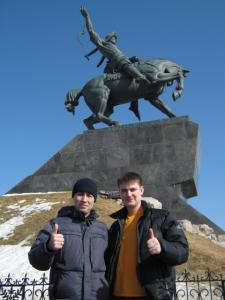 Я и Эдуард Усманов мой наставник