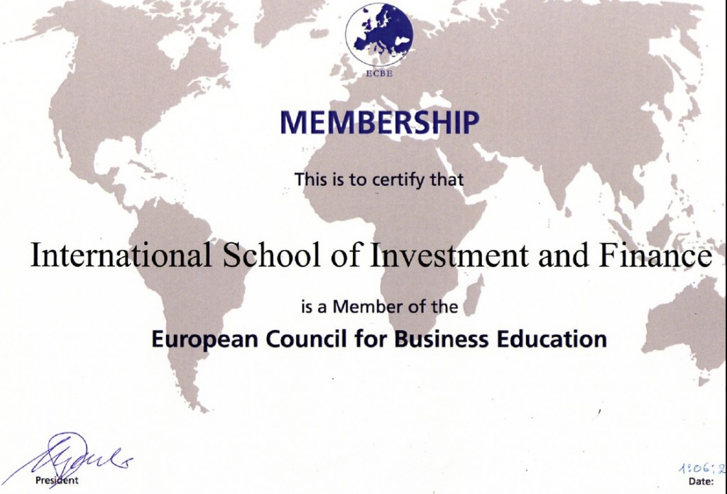 Certificate-isif